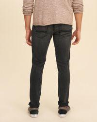 Hollister - Black Super Skinny Jeans for Men - Lyst