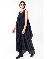 Uma Wang Black Alice Dress