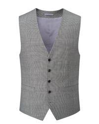 Skopes - Metallic Men's Hayden Wool Blend Suit Waistcoat for Men - Lyst