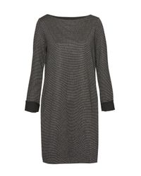French Connection - Black Louna Jersey Tunic Dress - Lyst