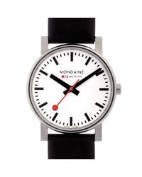 Mondaine Black Monevo0004 Evo Mens Watch for men