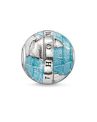 Thomas Sabo | Blue Karma Bead Wonderful World | Lyst
