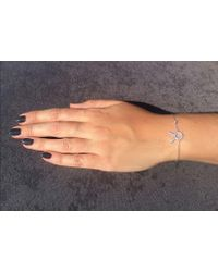 Latelita London - Metallic Zodiac Taurus Bracelet Silver - Lyst