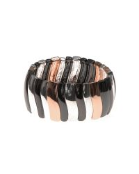 Nine West | Black Stretch Bracelet | Lyst