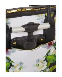 Ted Baker Manala Black Floral Travel Bag