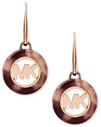 Michael Kors Brown Mkj5355791 Ladies Earrings