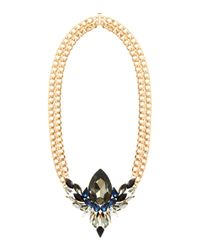 Maiocci Collection - Metallic Muna Black Handmade Necklace - Lyst