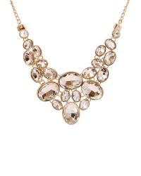 Ruby Rocks | Multicolor Gold Gem Drop Necklace | Lyst