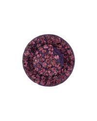 Mikey - Purple Flat Hat Earring - Lyst