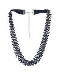 White Stuff - Blue Mossy Short Necklace - Lyst
