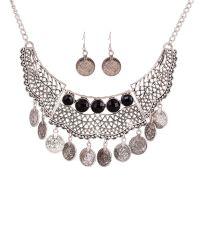 Ruby Rocks - Multicolor Silver Gem Drop Necklace - Lyst