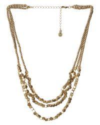 White Stuff - Metallic Pop Bead Necklace - Lyst