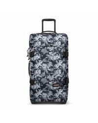 Eastpak | Tranverz Medium Black Jungle Wheeled Suitcase | Lyst