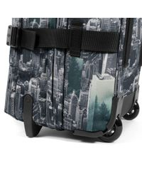 Eastpak - Multicolor Tranverz Large Escaping Pines Wheeled Suitcase - Lyst