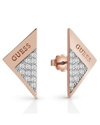 Guess | Multicolor Revers Ube83086 Sparkle Fold Stud | Lyst