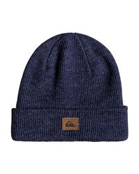 Quiksilver - Blue Performed Beanie for Men - Lyst