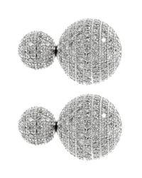 Coast | Metallic Anouska Sparkle Ball Earrings | Lyst