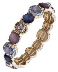 Lonna & Lilly | Blue Life`s A Gem Bracelet | Lyst