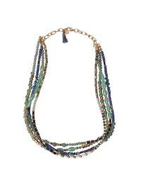 White Stuff - Multicolor Multi Bead Layer Necklace - Lyst