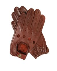 Dents - Brown Mens Classic Leather Driving Gloves for Men - Lyst