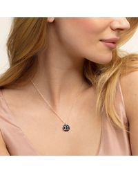 Thomas Sabo - Multicolor Love Coin Lucky Number 21 Heart Pendant - Lyst