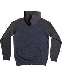 Quiksilver Black Everyday Zip Hoodie for men