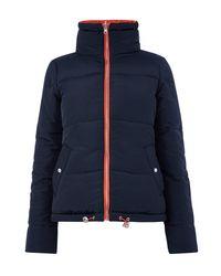 Oasis Orange Rachel Reversible Puffa Jacket