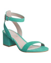 Office Green Make Up Sandals