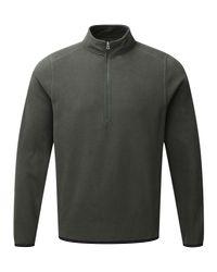 Tog 24 - Green Sixa Mens Tcz 100 Fleece Zip Neck for Men - Lyst