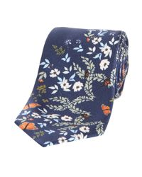 Ted Baker - Blue Coint Kyoto Floral Tie for Men - Lyst