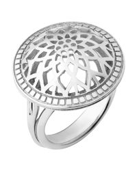 Links of London - Metallic Timeless Sterling Silver Domed Ring - Lyst