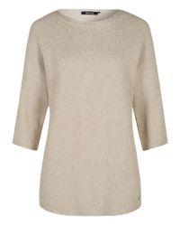 Olsen - White Pullover Long Sleeves - Lyst
