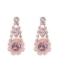Ted Baker Pink T15862416 Daisy Lace Drop Earrings