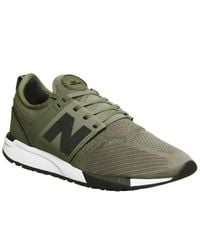 New Balance Green 247 Trainers