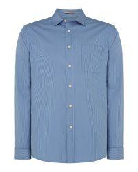 Howick - Blue Newington Oxford Stripe Shirt for Men - Lyst