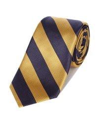 Howick Metallic Club Stripe Tie for men