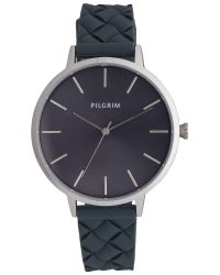 Pilgrim Metallic Classic And Feminine Silver Watch