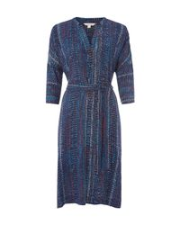White Stuff | Blue Nordie Dress | Lyst