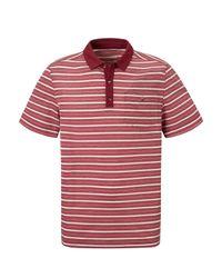 Craghoppers Red Nosilife Gilles Short Sleeved Polo for men