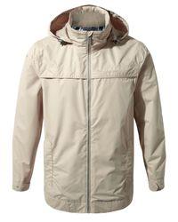 Craghoppers Yellow Men's Nicholson Waterproof Jacket for men