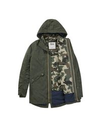Tommy Hilfiger Green 3in1 Utility Parka Jacket for men