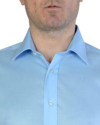 Double Two Black Paradigm Double Cuff Pure Cotton Non-iron Shirt for men