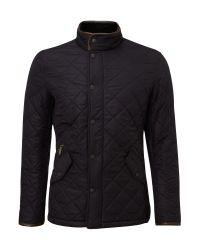 Barbour | Blue Powell Polar Quilt Chelsea Jacket for Men | Lyst