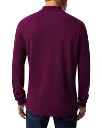 Lacoste - Purple L.12.12 Polo for Men - Lyst
