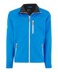 Helly Hansen   Blue Crew Midlayer Jacket for Men   Lyst