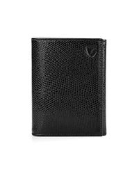 Aspinal - Black Trifold Wallet - Lyst