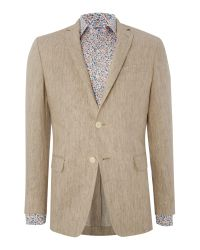 Richard James - Natural Formal Button Blazer for Men - Lyst