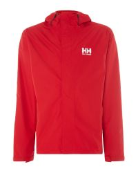 Helly Hansen Red Seven J Waterproof Mac for men