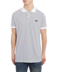 Helly Hansen Blue Transat Polo T-shirt for men