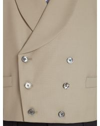 Chester Barrie - Natural Plain Tailored Fit Waistcoat for Men - Lyst